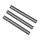 PICATINNY 25 SLOT LADDER LOWPRO RAIL COVER - 3-PACK