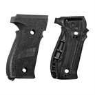 GRIP SET, BLACK POLYMER