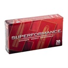 SUPERFORMANCE AMMO 223 REMINGTON 55GR GMX
