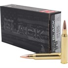 BLACK AMMO 223 REMINGTON 75GR BOAT TAIL HOLLOW POINT
