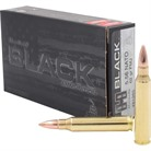BLACK AMMO 5.56MM NATO 62GR FULL METAL JACKET