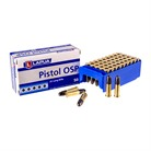 PISTOL OSP AMMO 22 LONG RIFLE 40GR LEAD ROUND NOSE