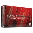 SUPERFORMANCE AMMO 300 RUGER COMPACT MAGNUM 165GR SST