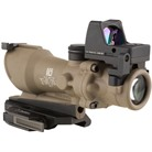 ACOG ECOS 4X32MM SCOPE CROSSHAIR RETICLE BUIS WITH RM01 RMR