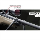 SAKO TRG LOW PROFILE PICATINNY RAIL