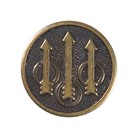 TRIDENT ARROWS <b>GRIPS</b> MEDALLION