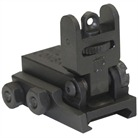 AR-15 FLIP-UP REAR SIGHT