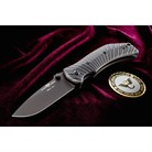 EXTREME LITE CARRY, STARBURST, CARBON FIBER BLK KNIFE