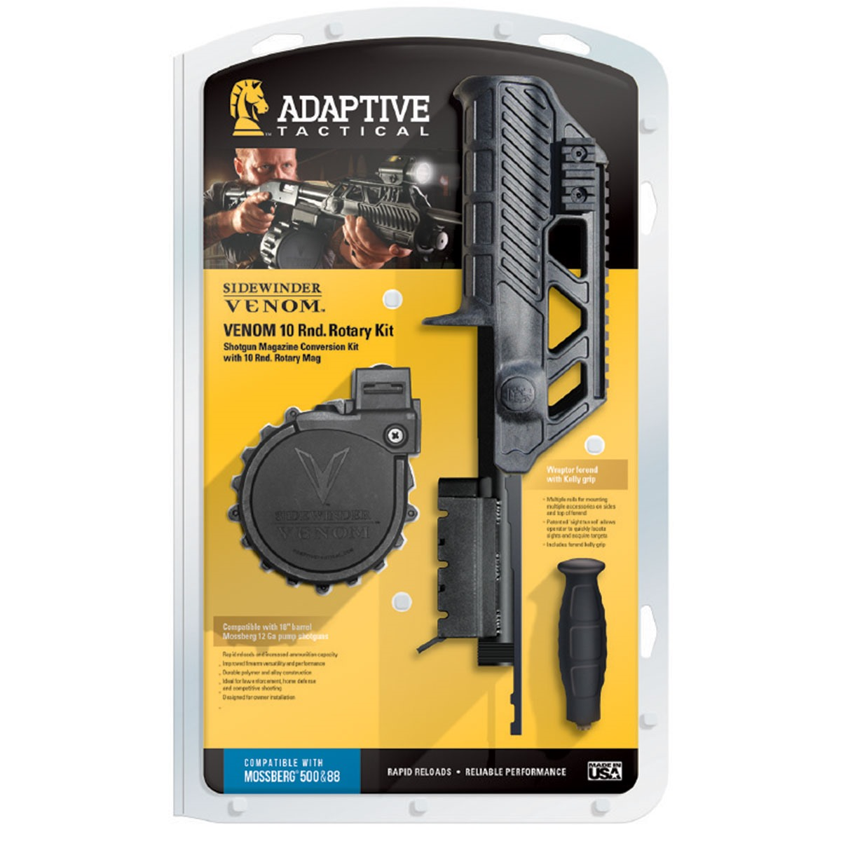 Adaptive tactical mossberg 500 magazine conversion kits for Self magazine customer service