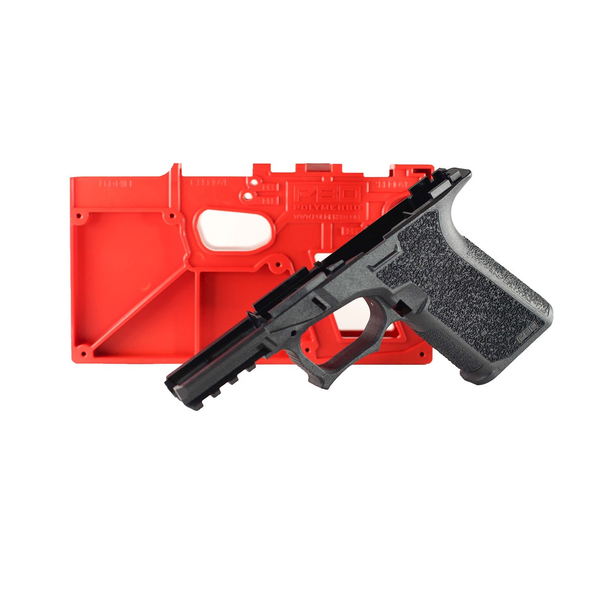 POLYMER80 PF940Cv1 80% FRAME TEXTURED FOR GLOCK 19/23/32 | Brownells
