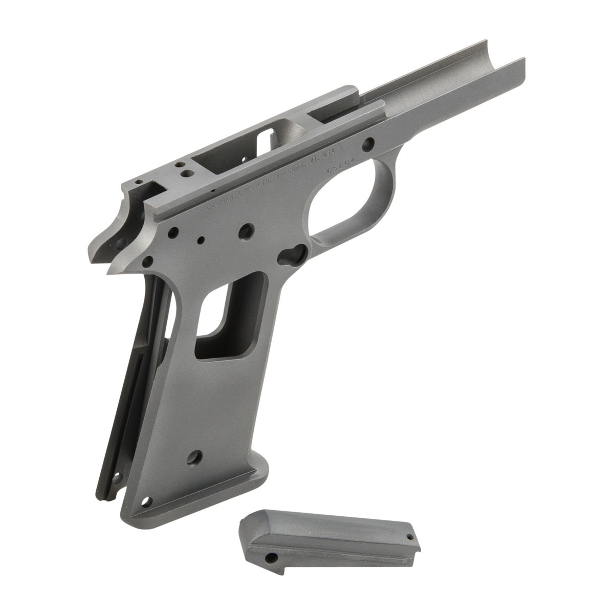 CASPIAN 1911 RACE READY RECEIVER CARBON, SMOOTH | Brownells