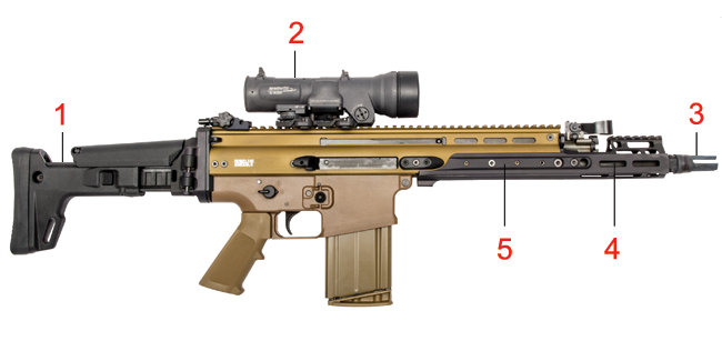 Image result for SCAR 17S pic
