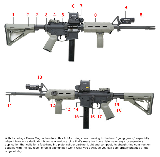 Going Green  9mm AR   15      Top Rated Supplier of Firearm