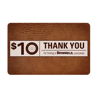 $10 Customer Appreciation Gift Card