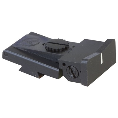 Xs Sight Systems Bomar Bcms White Express Adjustable Rear Sight