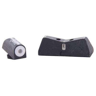 24/7 Big Dot Tritium Express Sight Set For Glock~