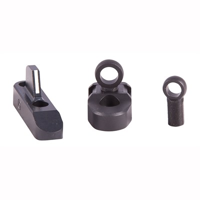 Marlin Integral Post And Base Set - 336 Lever Rail Ghost Ring Set