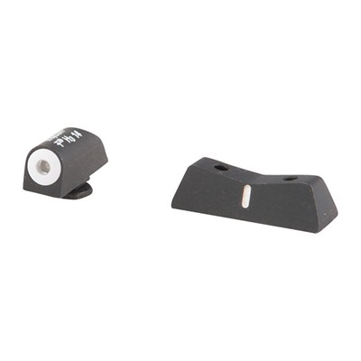 Dxw Big Dot Sights For Glock - Dxw Big Dot Sight Set-Glock® 42,43