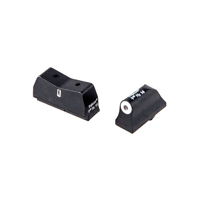 Dxt Big Dot Suppressor Height Sights For Glock® - Dxt Big Dot Suppressor Hgt Sights-Glock® 1