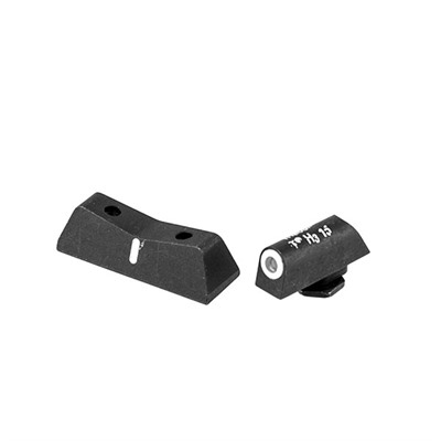 Xs Sight Systems Dxw Standard Dot Sights For Glock - Dxw Standard Dot Sights-Glock 42,43