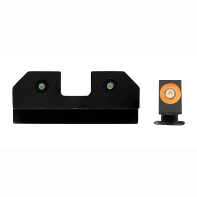 Xs Sight Systems Ram Night Sights For Glock - Ram Night Sights Orange Glock 17/19/22/24/26/27/31/36/38
