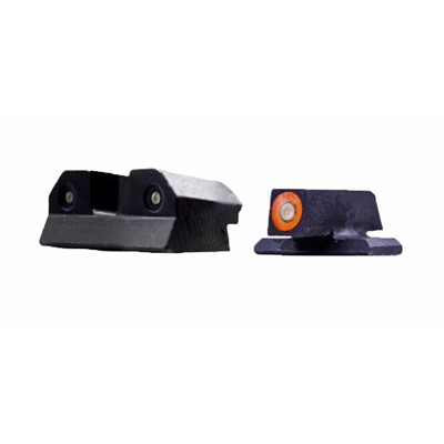 Xs Sight Systems Ram Night Sights For Sig Sauer/Springfield/Fn - Ram Night Sights Orange Sig P365/226 Springfield Xd Fn 509