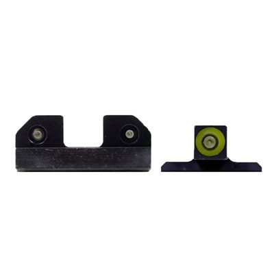 Xs Sight Systems Ram Night Sights For Smith & Wesson - Ram Night Sights Green S&W M&P & M2.0 Shield
