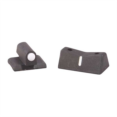 1911 Express White Dot Sight Set