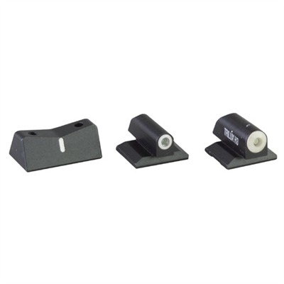 Dxw Big Dot Sights For Colt 1911 - Dxw Big Dot Sight Set-Colt 1911 Government 5""