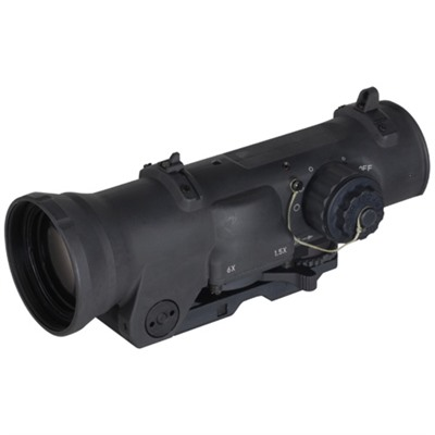 Elcan Specterdr Dual Role Combat Sight 1.5x/6x 5.56 Cx5455 Reticle - 1.5x/6x-42mm 5.56 Cx5455 Ballistic Matte Black