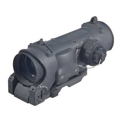 Elcan Specterdr Dual Role 1x/4x Optical Sight 5.56 Cx5395 Reticle - 1x/4x-32mm 5.56 Cx5395 Ballistic Matte Black