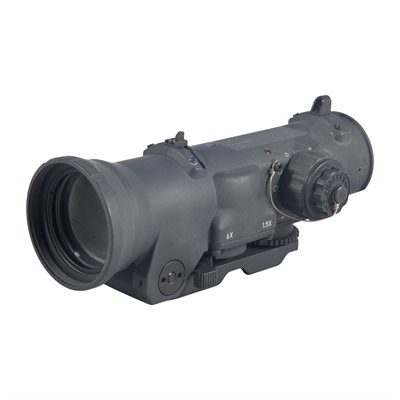 Elcan Specterdr Dual Role 1.5x/6x Optical Sight 7.62 Cx5456 Reticle - 1.5x/6x-42mm 7.62 Cx5456 Ballistic Matte Black