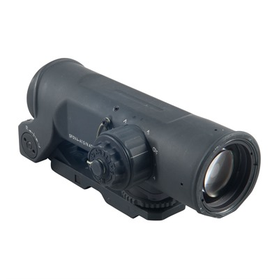 Elcan Specteros4x Combat Optical Sight 5.56 Cx5755 Chevron Reticle - 4x32mm 5.56 Cx5755 Ballistic Chevron Matte Black