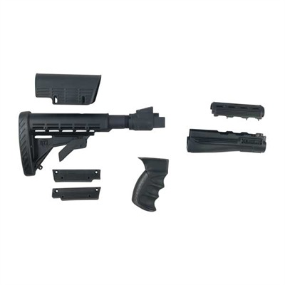 Ak-47 Strikeforce Furniture Set Adjustable Nylon - Strikeforce Furniture Set Adjustable Black