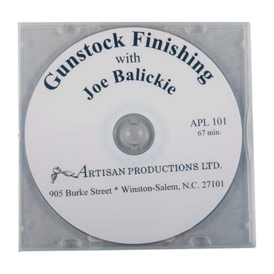 Image of Artisan Productions Gunstock Finishing Dvd