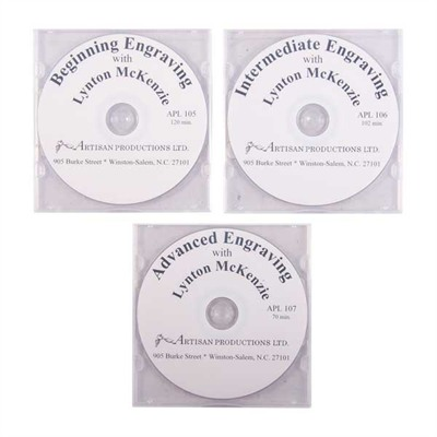 Engraving With Lynton Mckenzie - Dvd Set, 3 Dvds