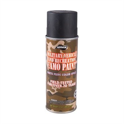 Aervoe-Pacific Co. Camo Paints - Camo Paint, Black