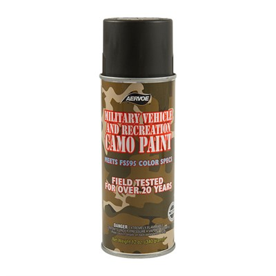 Camo Paints - Camo Paint, O.D. Semi-Gloss