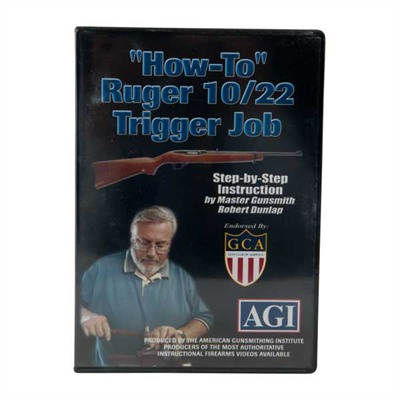Image of Agi American Gunsmithing Institute Video Ruger~ 10/22~ Video