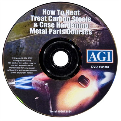 #319 Heat Treating Carbon Steels and Alloys #319 Heattreating / #320 Case Hard. Dvd : Books & Videos by Agi for Gun & Rifle