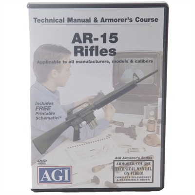 Ar-15 Rifles Technical Manual And Armorer's Course Dvd
