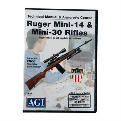 Agi Ruger~ Mini-14~ Rifles Technical Manual And Armorer's Course Dvd