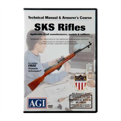 Agi Sks 94 Rifles Technical Manual And Armorer's Course Dvd