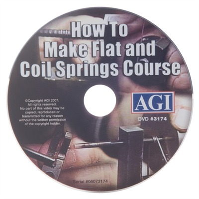Agi How To Make Flat And Coil Springs Dvd