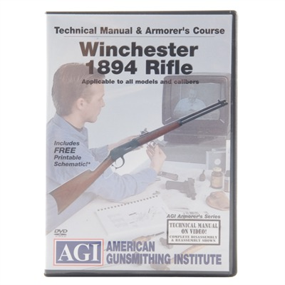 Agi Winchester 94 Rifles Technical Manual And Armorer's Course Dvd - Winchester 94 Technical Manual & Armorer's Course Dvd