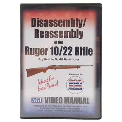 Agi Ruger~ 10/22~-Assembly And Disassembly Dvd