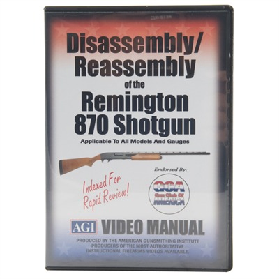 Agi Remington 870-Assembly And Disassembly Dvd