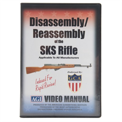 Sks Rifle-Assembly And Disassembly Dvd