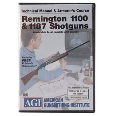 Agi Remington 110 And 11-87 Technical Manual And Armorer's Course Dvd