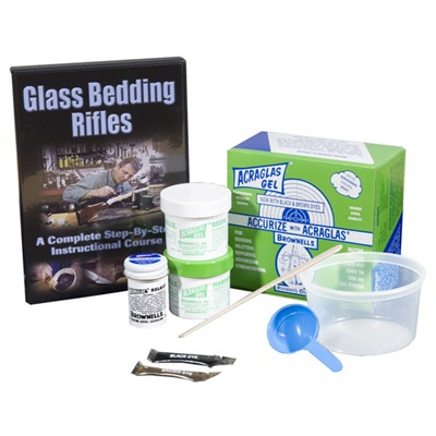 Sgbv Stock 'glass Bedding Video and Kit Sgbd Glass Bedding Kit / dvd : Books & Videos by Agi for Gun & Rifle